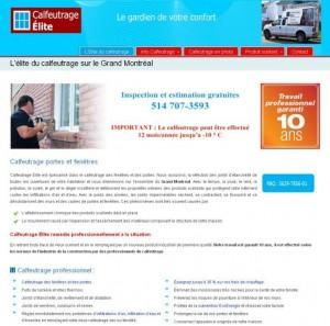 Calfeutrage Elite à Laval