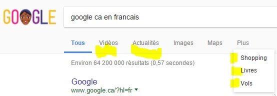 autres moteurs Google