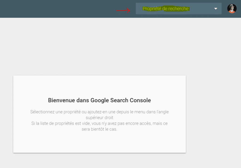nouvelle search console